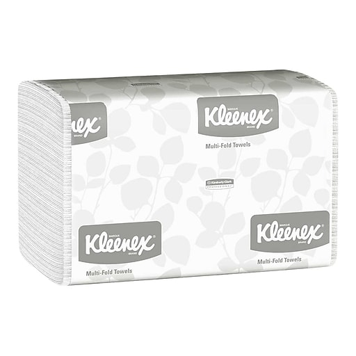 KC 01890 KLEENEX BLEACH MULTIFOLD TOWEL 16PKGS-150
